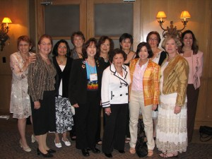 Among those attending Hadassah's recent Region Convention held in McAllen, from left, Amy Applebaum, Maxine Pomerantz, June Penkar, Harriet Hollander, Susie Avnery, Francine Daner, Bea Weisbrod, Barbara Moses, Amy Seidner, Lorri Dickstein, Susan Blum Barnett and Robin Teig.